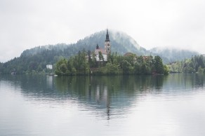 Lake Bled is a mythical place.